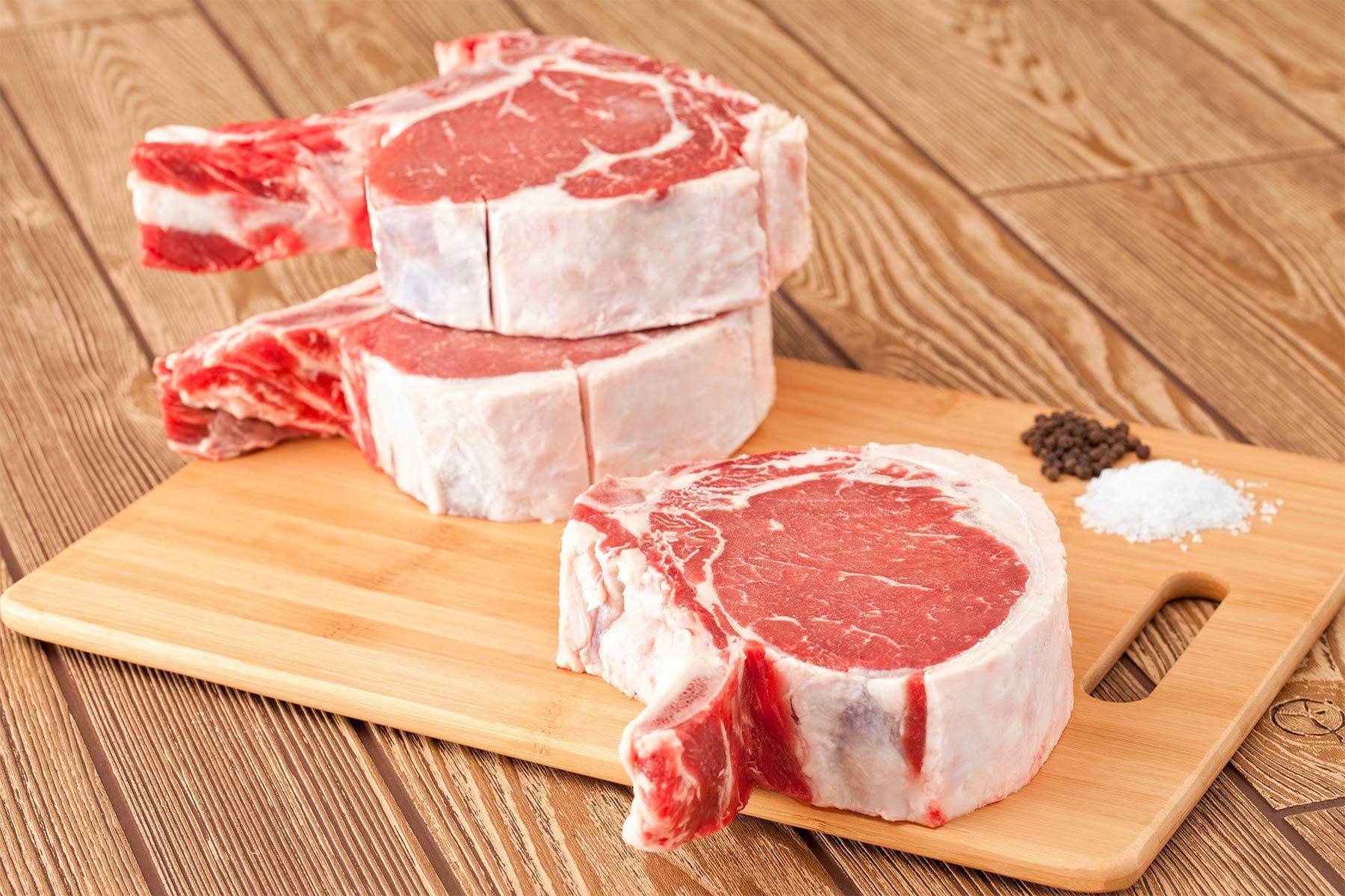 Cowboy corte de carne